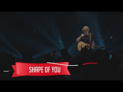 Ed Sheeran  Shape of You  on the Honda Stage at the iHeartRadio Theater NY