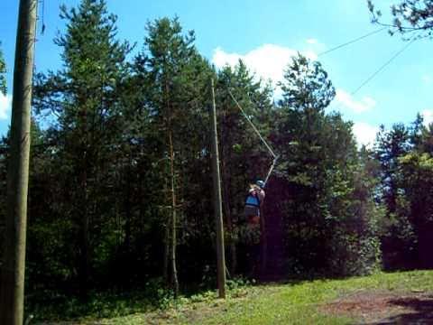 Swinging at the webb camp