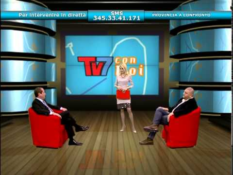 """TV7 CON VOI: """"PROVINCE A CONFRONTO"""""""