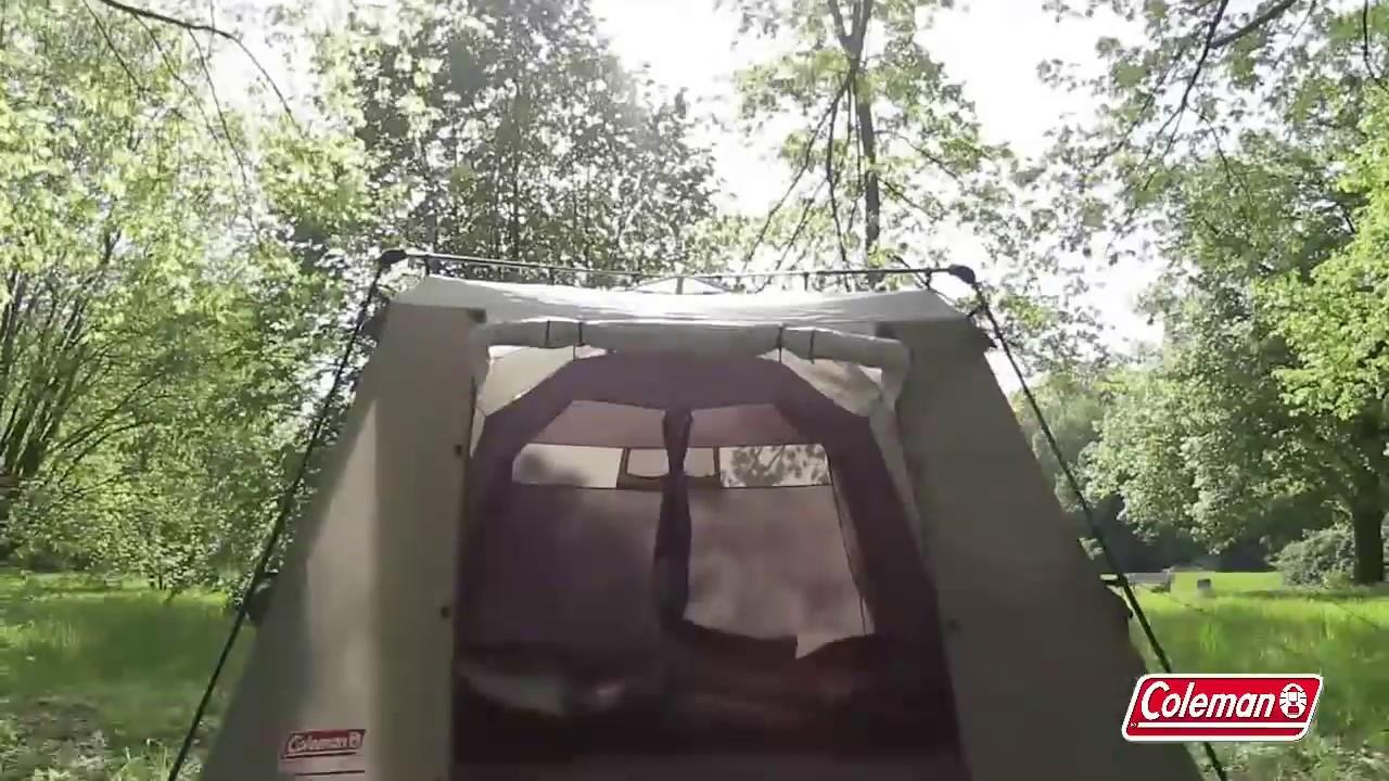Coleman® - Instant Tent - 1 minute setup & Coleman® - Instant Tent - 1 minute setup - YouTube