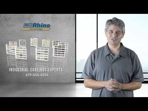 Industrial Floor Coatings San Diego Rhino Pro (619)454-4506