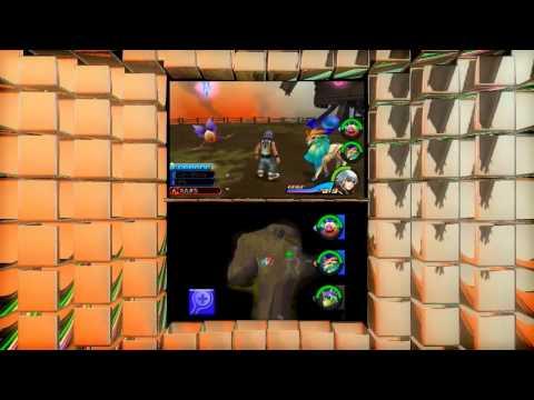 Kingdom Hearts 3D: Dream Drop Distance English Trailer (3DS)