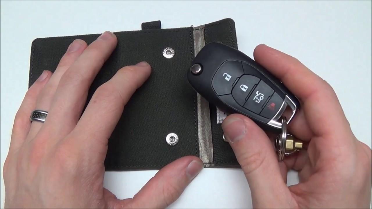 Silent Pocket Key Fob Guard Review - RFID Fob Protector