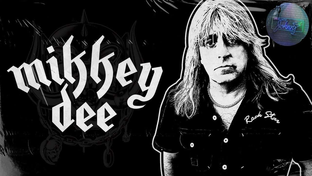 Raising Hell with Motörhead's Mikkey Dee   Drinks With Johnny #83