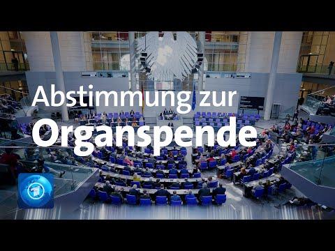 Organspende: Bundestag lehnt