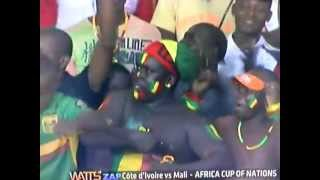 Funny moments in African nation cup