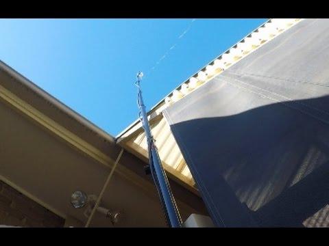 Installing an End Fed HF Antenna