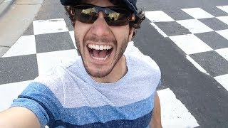 Overly Excited Tourist Goes High Octane In Charlotte