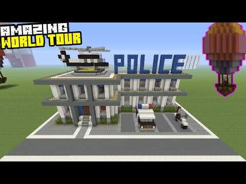 Amazing World Tour! Prison Tour, Police Station Tour Featuring Shark House!