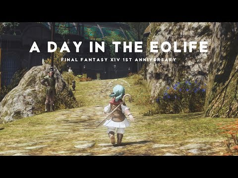[FFXIV-1stAnniv] A DAY IN THE EOLIFE