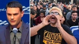 Ben Shapiro speaks at UC Berkeley amid protests