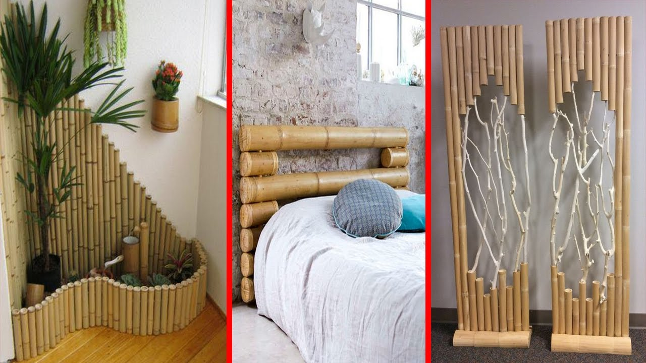 Easy And Attractive Diy Projects Ideas Using Bamboo Youtube