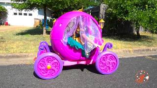 Little Princesses 18 - Cupcakes, Magic School Teamwork Lessons, & The Pink Princess Carriage