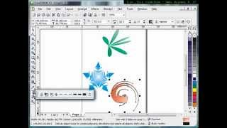 How to use Interactive Distortion Tool,Tutorial Corel Draw, Tips and Trick, Mastering Corel Draw