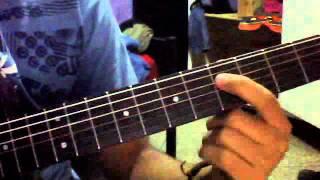 ya rayeh  lesson guitare