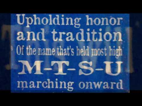 MTSU Fight Song (With Words)