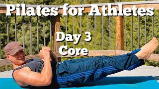 Pilates for Athletes Core Workout for Men and Women Day 3 with Sean Vigue Fitness