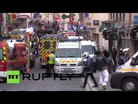 Трое подозреваемых убиты в результате спецоперации полиции в пригороде Парижа