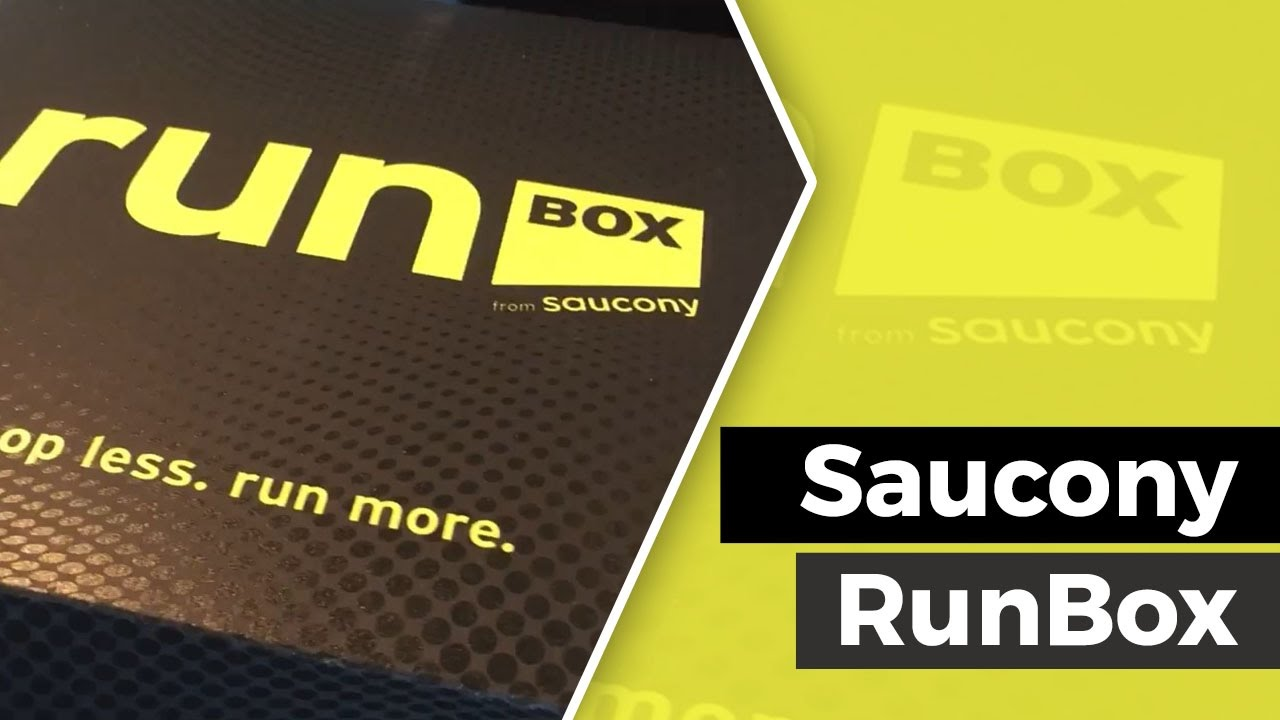 Making a Run Gear Junkie - A Saucony Run Box Review