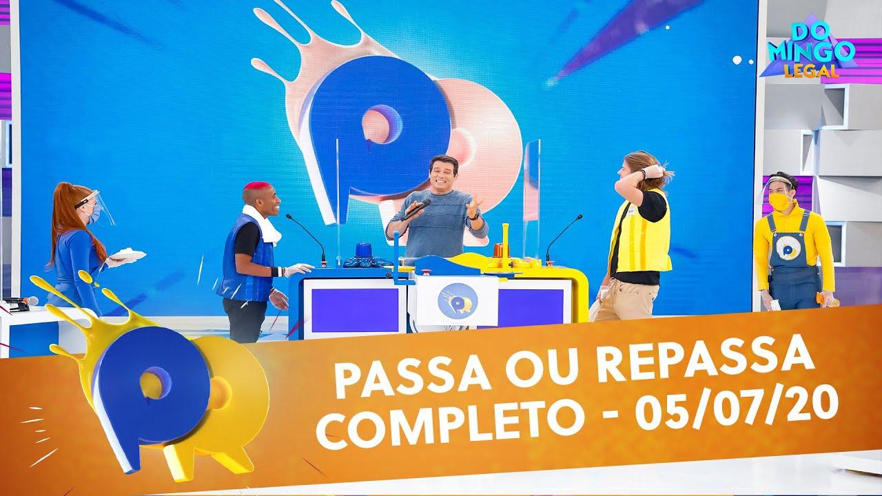 Passa ou Repassa - Completo | Domingo Legal (05/07/20)