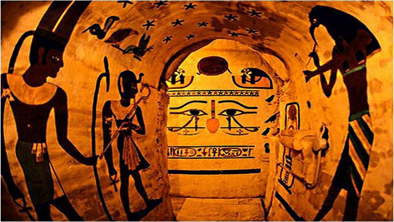Geheimnis Der ägyptischen Hieroglyphen Tag Des Jüngsten Gerichts