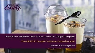 Jump-start Breakfast With Muesli & Apricot And Ginger Compote