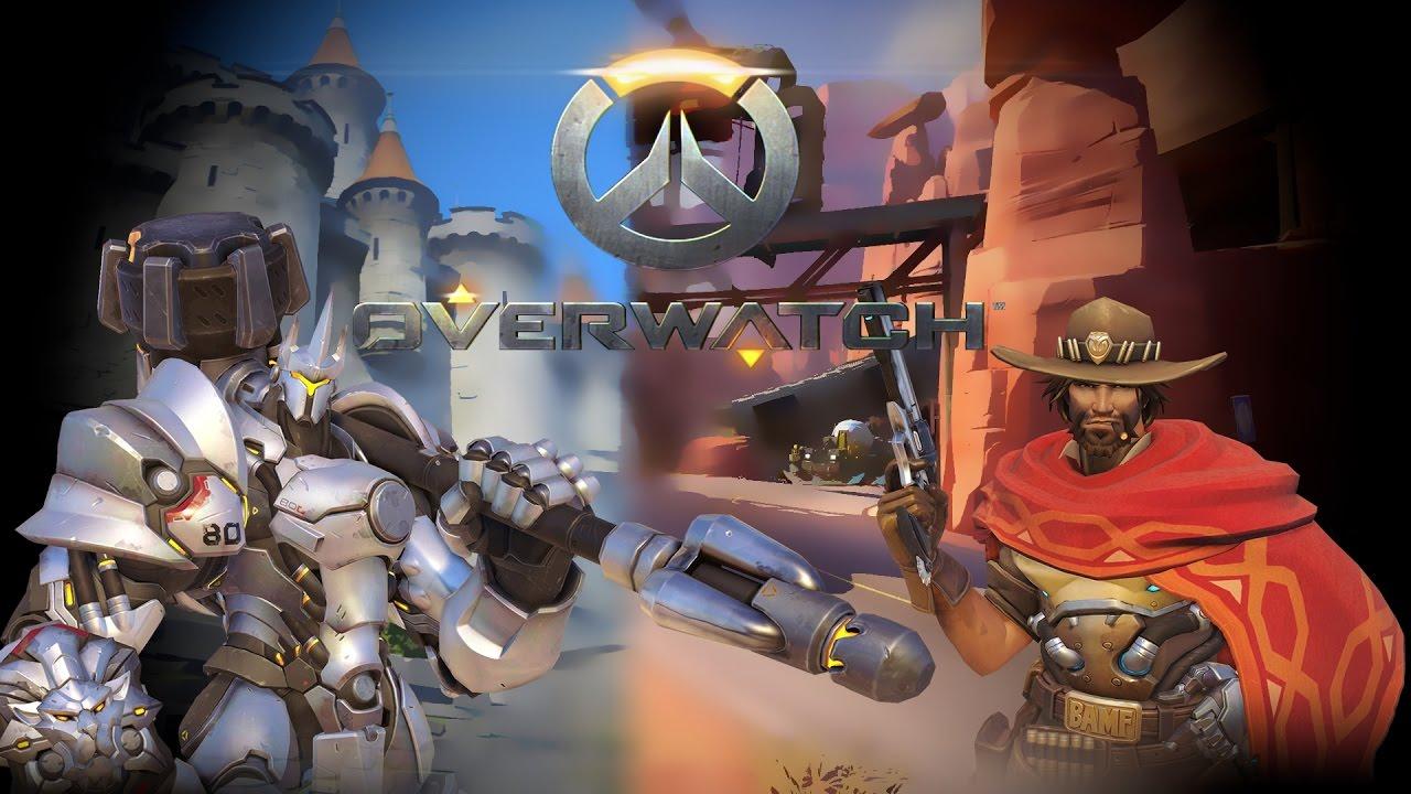 Overwatch Gameplay #2 [German] (HD) POTG Jäger