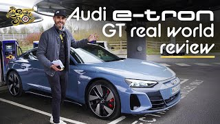 New e-Tron GT Quattro EV review; Audi's answer to the Taycan and Tesla S Plaid