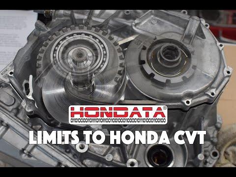 Hondata R&D finds limits of CVT