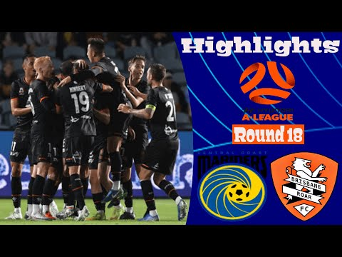 Central Coast Brisbane Roar Goals And Highlights