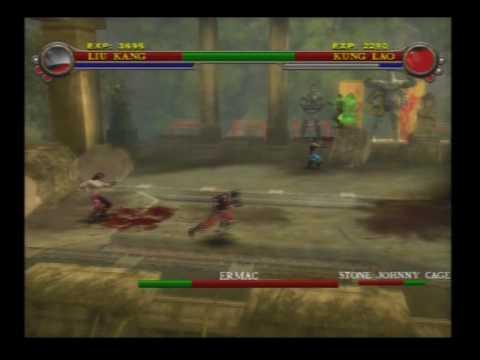Mortal Kombat Shaolin Monks Part 33- Hidden Boss Ermac
