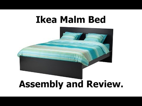 Ikea Malm Bed Embly And Review Ytwp