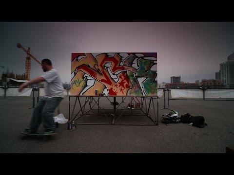 Lebanon Graffit Artist Phat2 is Taking Back Beirut