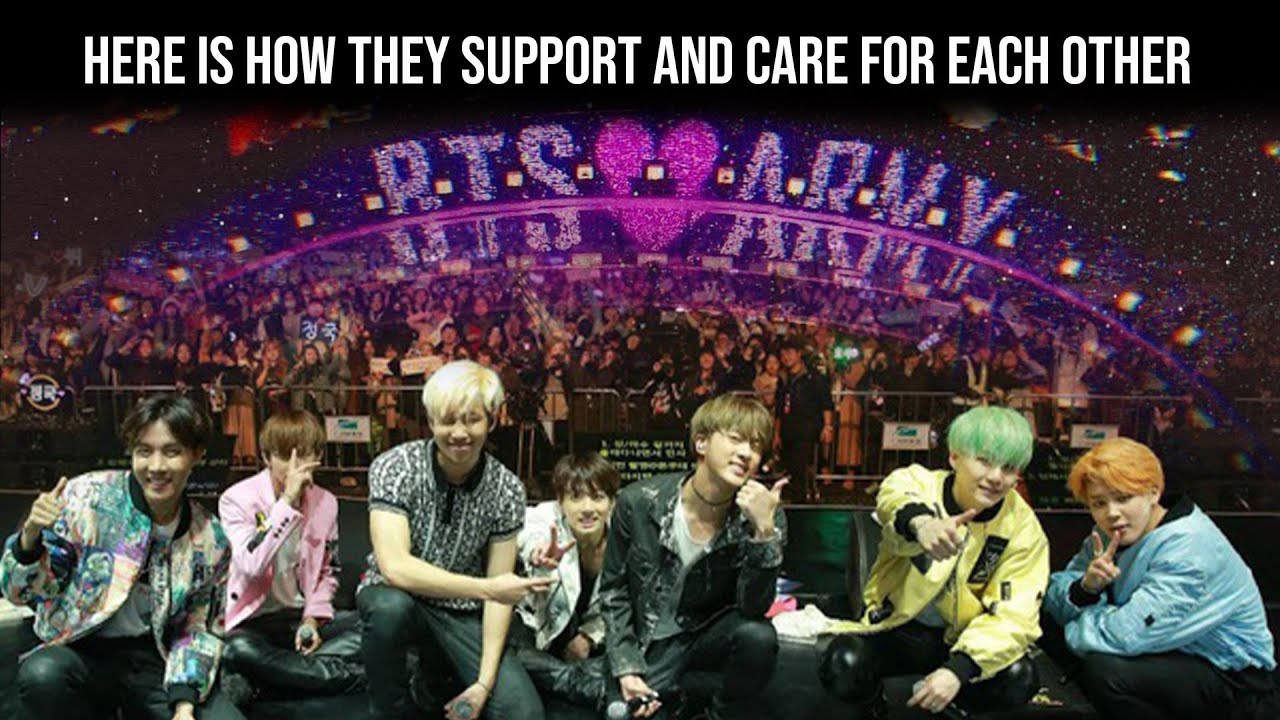 BTS(방탄소년단) BTS and the ARMY, Here is How they support and care for each other - Bangtan BOMB