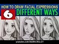 How to Draw Facial Expressions: 6 Different Ways