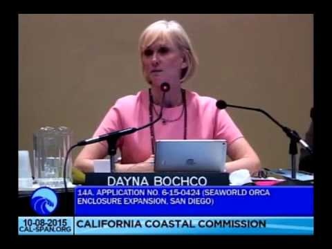 The Magnificent Commissioner Dayna Bochco @ The California Coastal Hearing October 8 2015