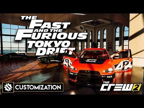Fast & Furious: Tokyo Drift│Customization - Showcase│The Crew 2