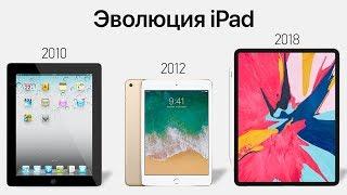 Эволюция IPad