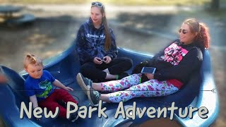 PARK ADVENTURE | Parents had more fun then he did
