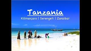 Tanzania Trip | Kilimanjaro | Serengeti | Zanzibar | GoPro HD