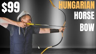 $99 Hungarian Style Horse Bow From AMAZON -- (1ST HORSE BOW EVER) - Flagella Recurve Horse Bow