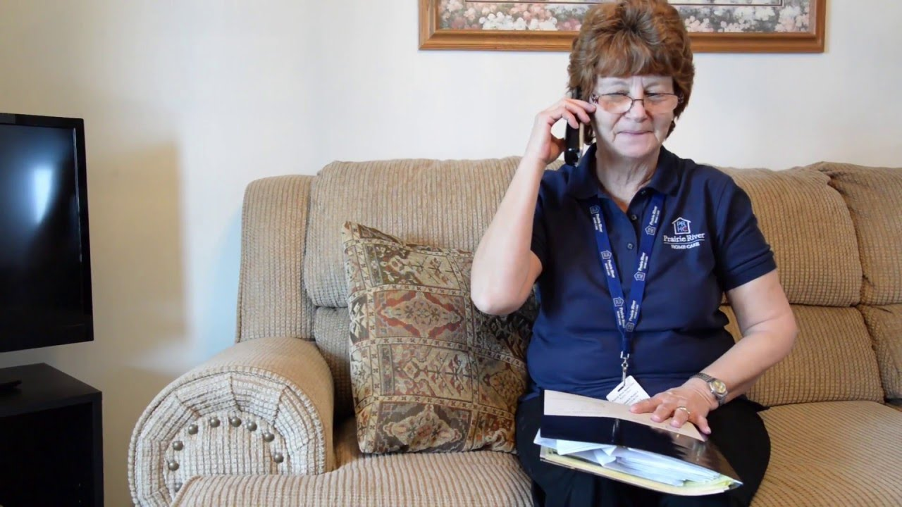A day in the life of a Home Health Aide - YouTube
