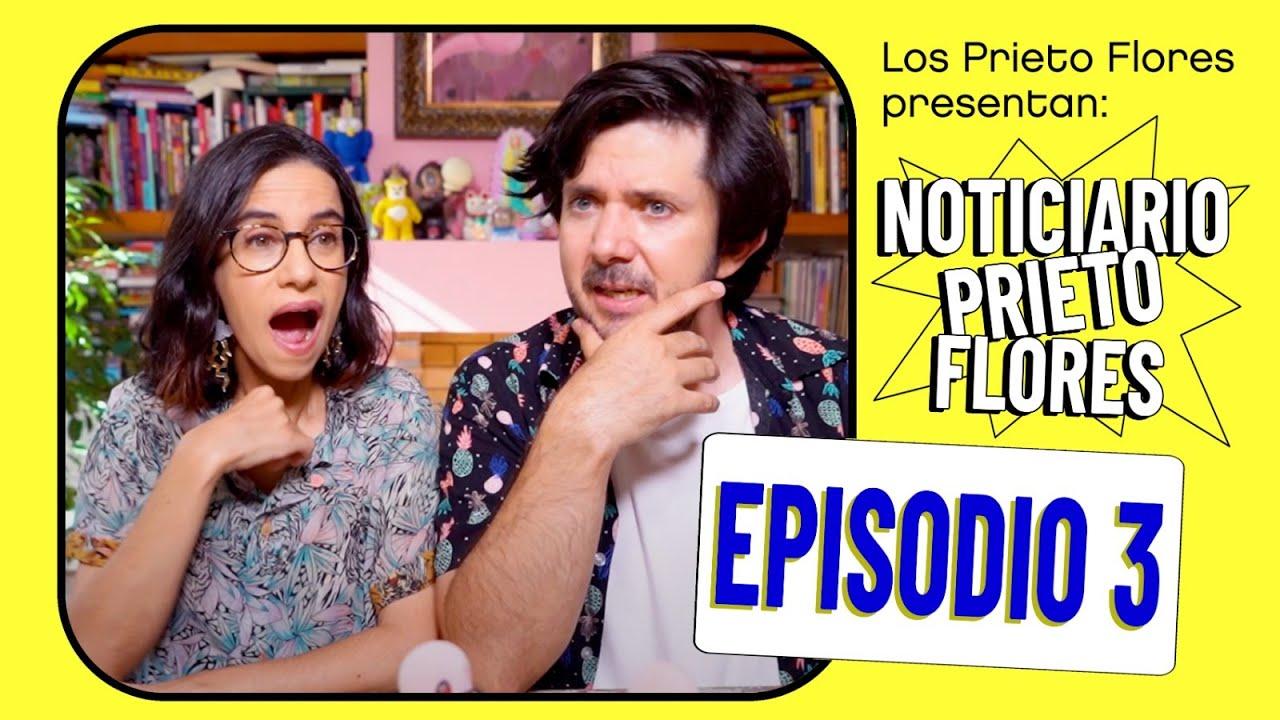 Noticiario Prieto Flores 3: Thalía, La Casa Fuerte y mucho + | Los Prieto Flores 2020