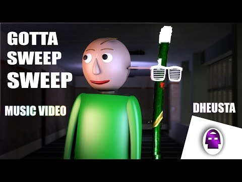 [SFM Baldi] Gotta SWEEP SWEEP SWEEP!!!(Baldi's Basics in Education And Learning Song)| DHeusta