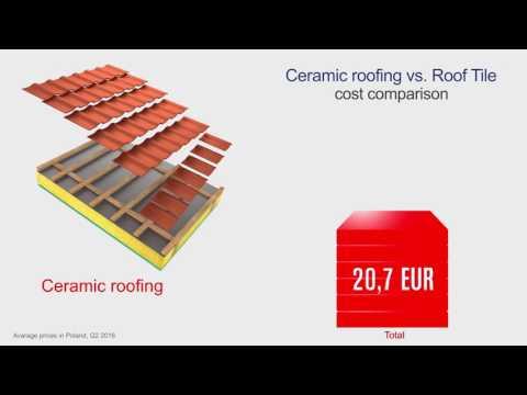Kingspan Roof Tile vs. standard ceramic roof