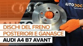 Smontaggio Pasticche freni AUDI - video tutorial