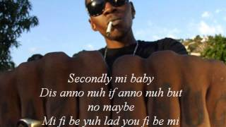 Vybz Kartel-Wine fi mi nuh lyrics by Ryan Supahstud