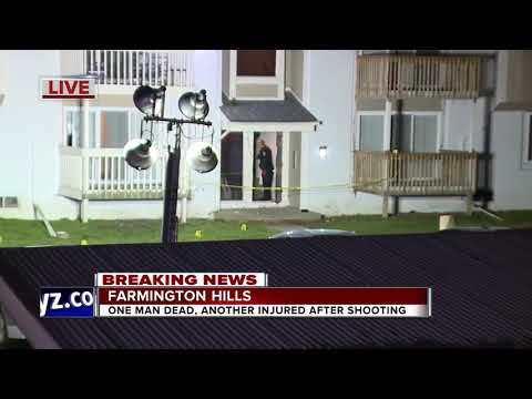 One dead, one injured in shooting at apartment complex in Farmington Hills