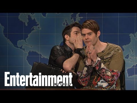 Bill Hader Reveals What John Mulaney Said To Him On SNL   Flash  Entertainment Weekly