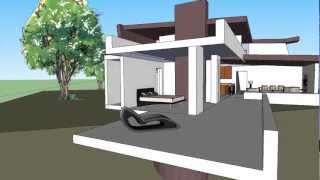Sylvan Ecohouse Arcitectural Renderings - Animation 1